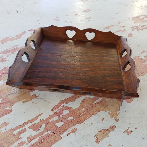 Vintage Other - Vintage wooden tray